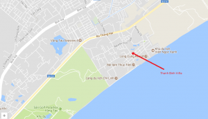 Thanh Binh Villa map